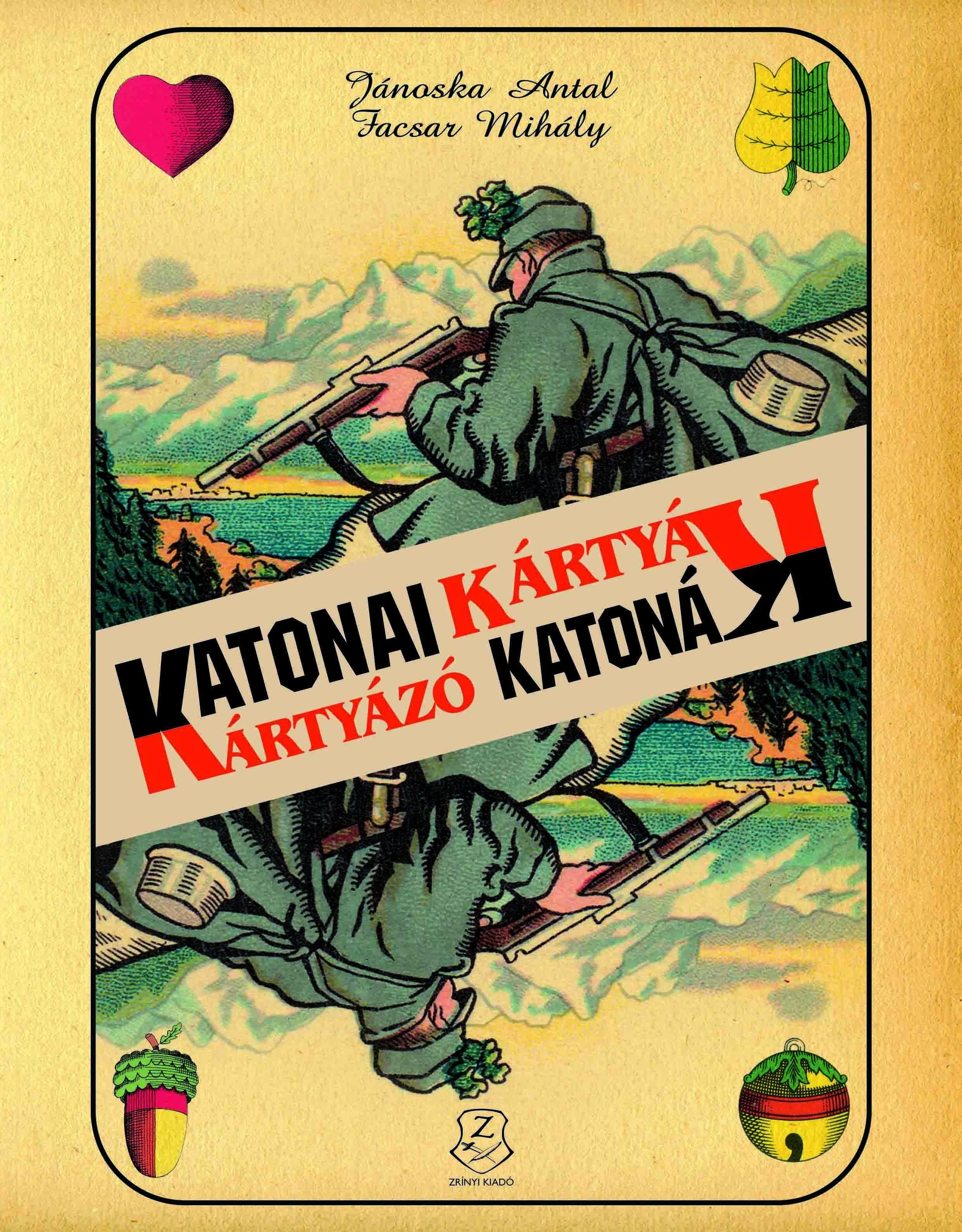 KATONAI KÁRTYÁK - KÁRTYÁZÓ KATONÁK