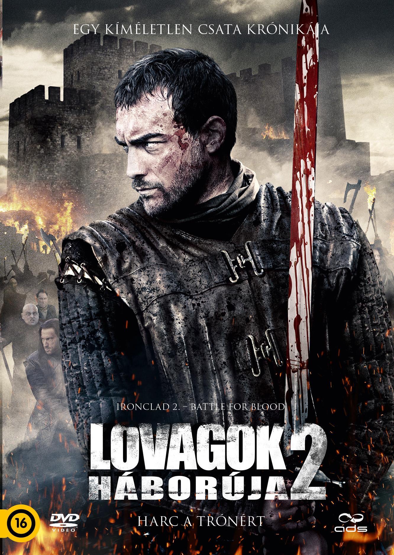 LOVAGOK HÁBORÚJA 2. - HARC A TRÓNÉRT - DVD -