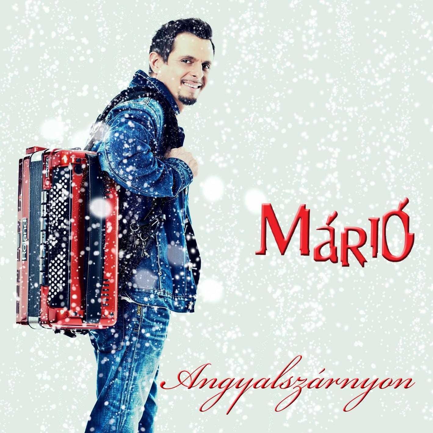 ANGYALSZÁRNYON - MÁRIÓ - CD -