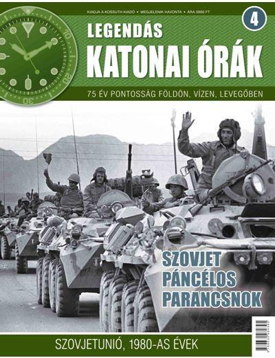 SZOVJET PÁNCÉLOS PARANCSNOK - LEGENDÁS KATONAI ÓRÁK 4.