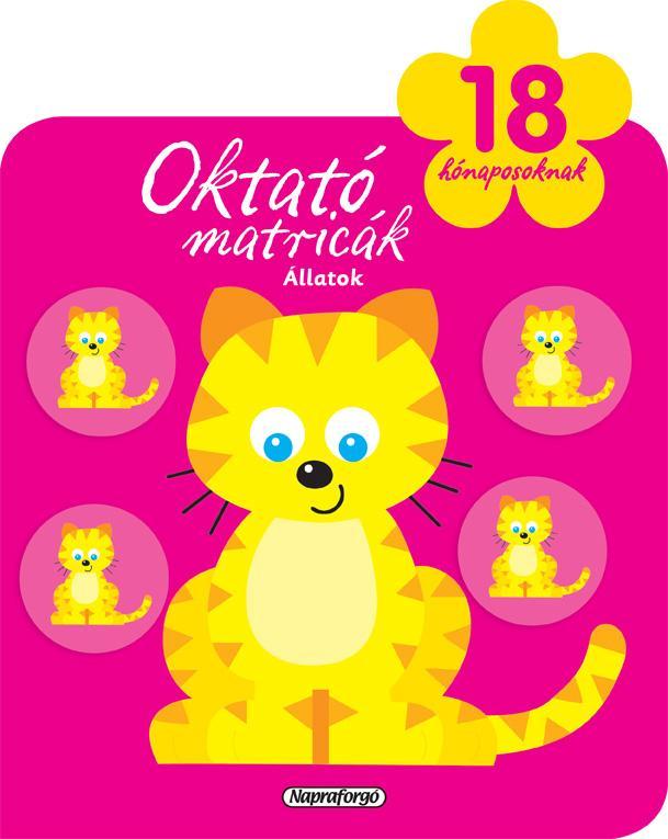 OKTATÓ MATRICÁK - ÁLLATOK (18 HÓNAPOSOKNAK)