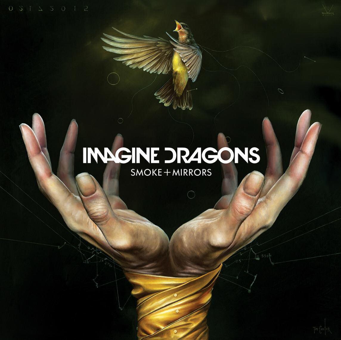 SMOKE + MIRRORS - IMAGINE DRAGONS - CD -