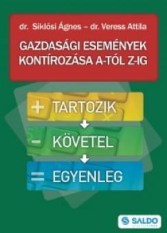 GAZDASÁGI ESEMÉNYEK KONTÍROZÁSA A-TÓL Z-IG (ÁTDOLG. 2015 KIAD.)