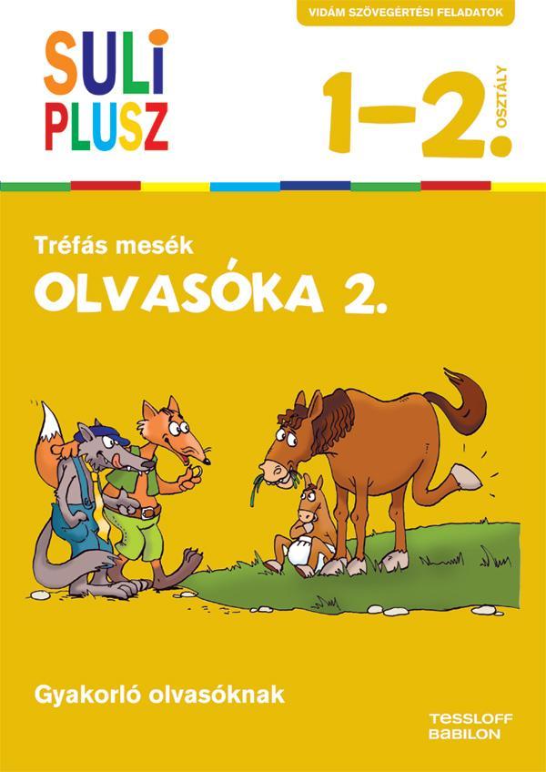 SULI PLUSZ - OLVASÓKA 2. - TRÉFÁS MESÉK (ÚJ, 2015)