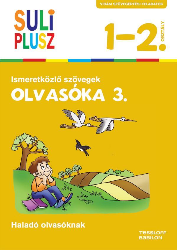 SULI PLUSZ - OLVASÓKA 3. - ISMERETKÖZLŐ SZÖVEGEK (ÚJ, 2015)