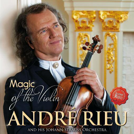 RIEU, ANDRÉ - MAGIC OF THE VIOLIN - CD -
