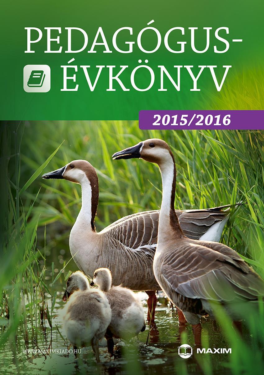 PEDAGÓGUS-ÉVKÖNYV 2015/2016