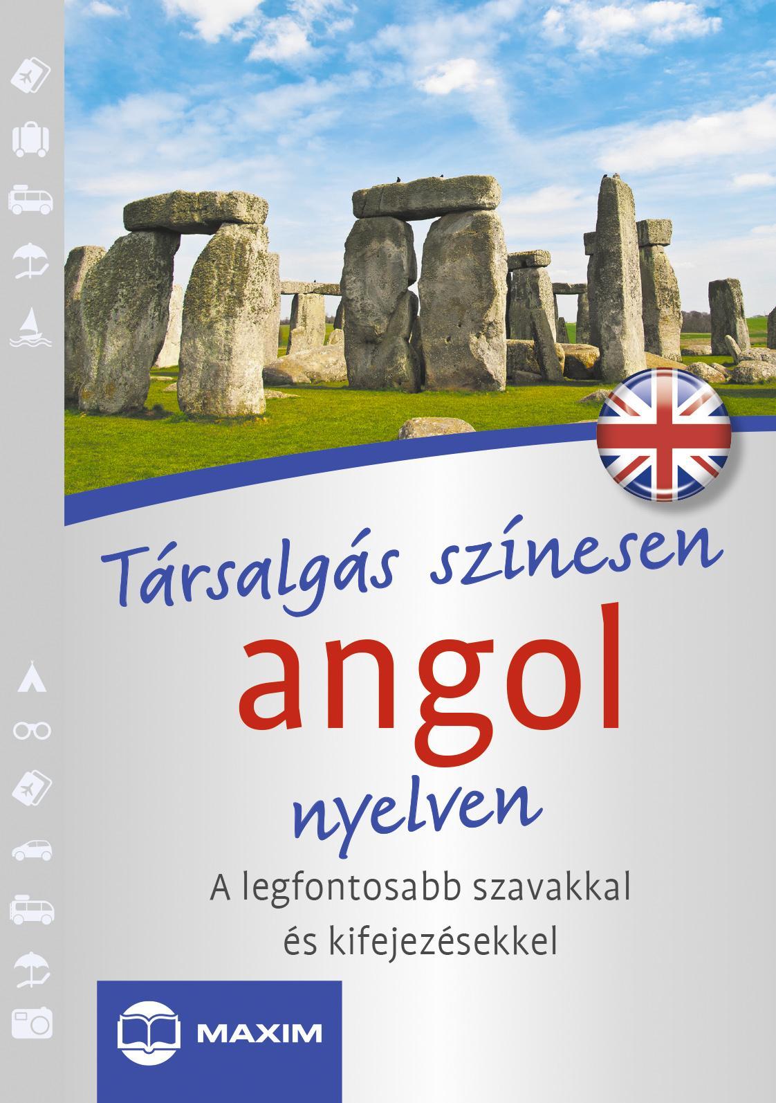 TÁRSALGÁS SZÍNESEN ANGOL NYELVEN