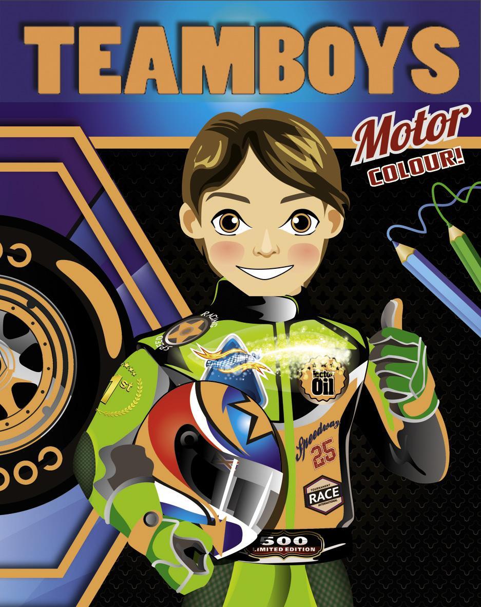 TEAMBOYS COLOUR - MOTORVERSENYZÕ (MOTOR COLOUR!)