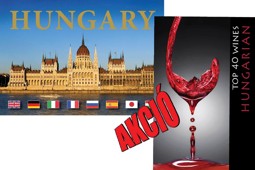 HUNGARIAN TOP 40 WINES + HUNGARY (CSOMAG)