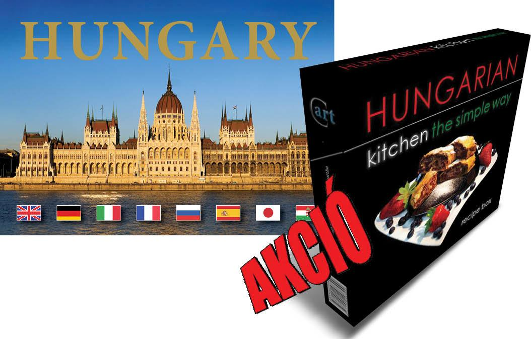 HUNGARIAN KITCHEN THE SIMPLE WAY + HUNGARY (CSOMAG)