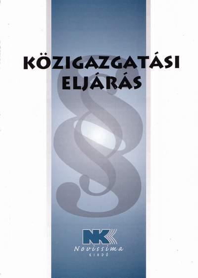 KÖZIGAZGATÁSI ELJÁRÁS - 2015. ÁPRILIS 28.