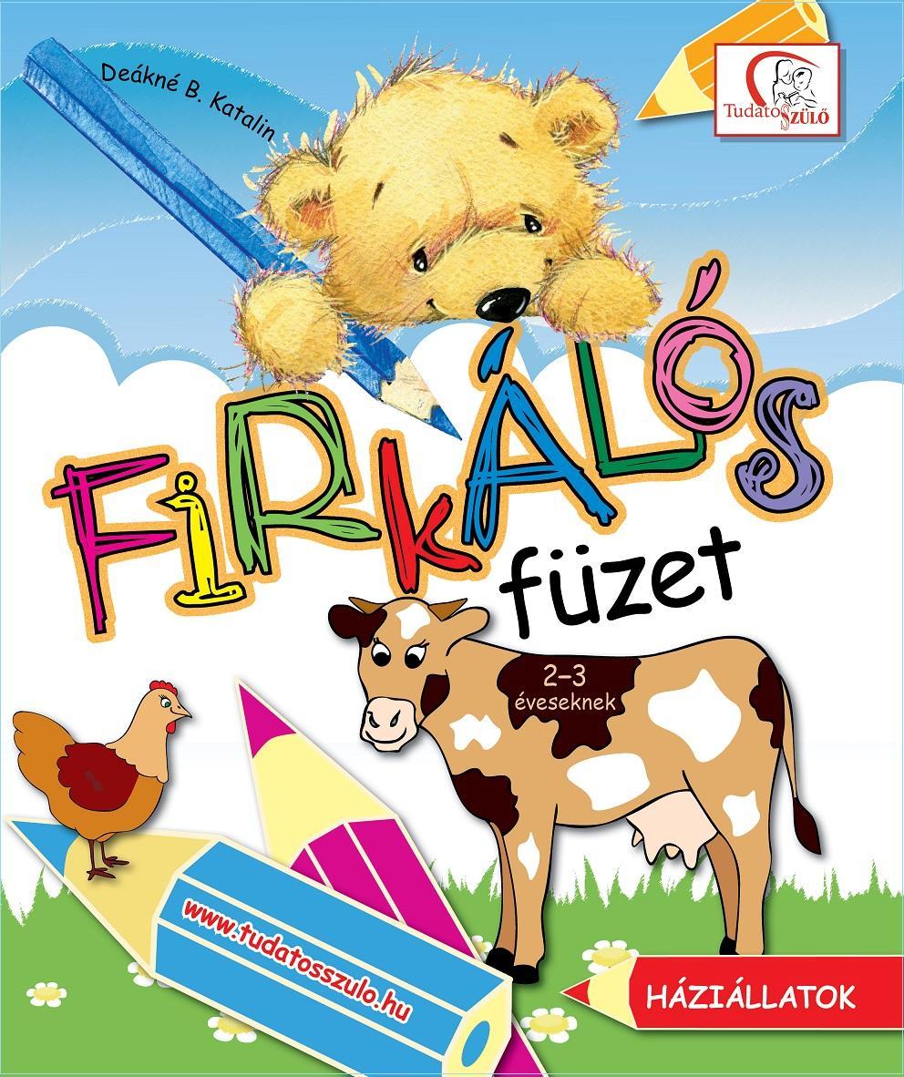 FIRKÁLÓS FÜZET - HÁZIÁLLATOK