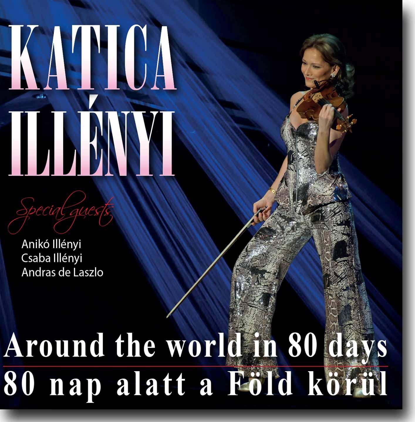 80 NAP ALATT A FÖLD KÖRÜL - CD -