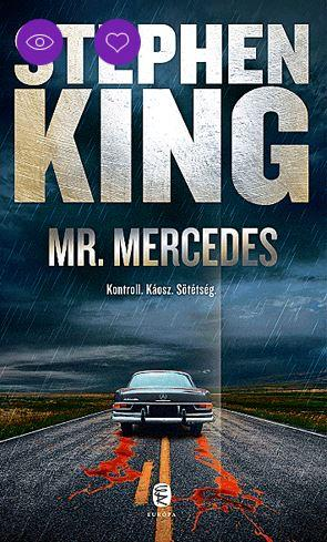KING, STEPHEN - MR. MERCEDES (ÚJ, FŰZÖTT)