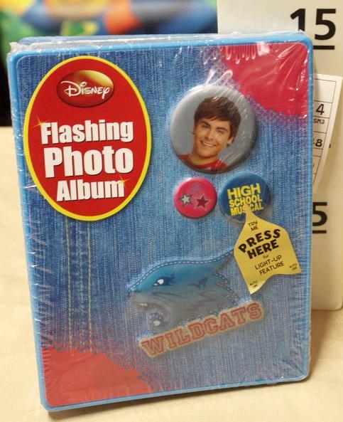 FLASHING PHOTO ALBUM HSM3 (VIL.)