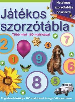 JÁTÉKOS SZORZÓTÁBLA - MATRICÁVAL ÉS POSZTERREL