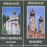 HOLOCAUST - MAGYARORSZÁG/BUDAPEST 1944 - TÉRKÉP