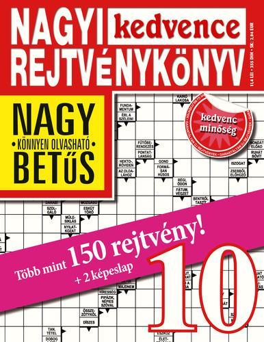 - - NAGYI KEDVENCE REJTVÉNYKÖNYV 10.