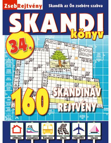ZSEBREJTVÉNY SKANDI KÖNYV 34.