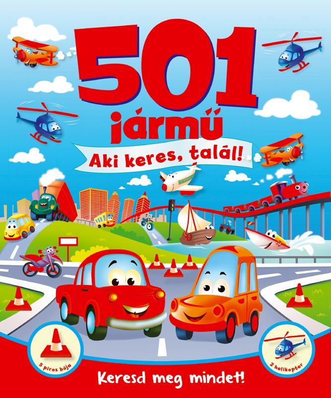 501 JÁRMÛ - AKI KERES, TALÁL!