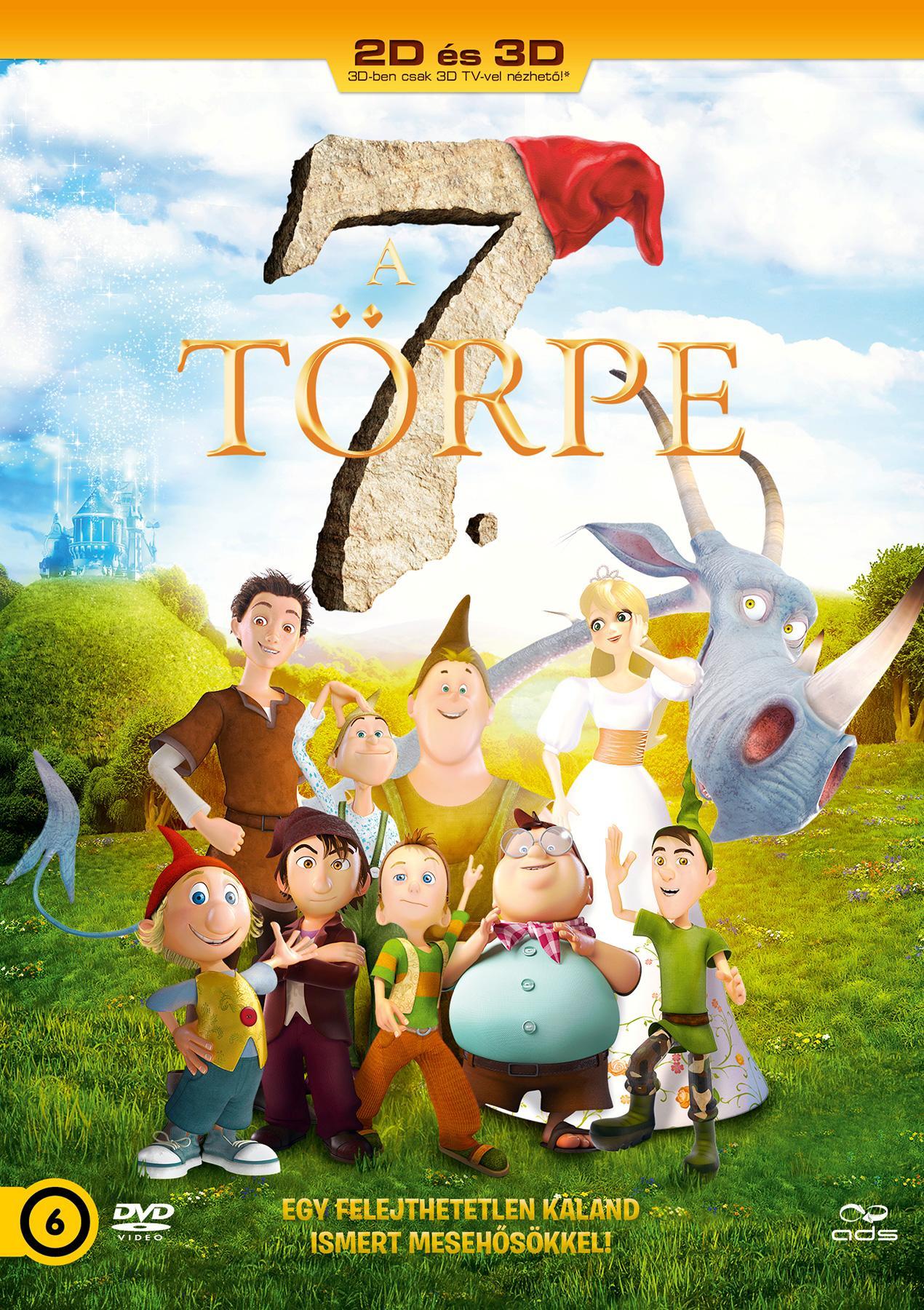 A 7. TÖRPE - DVD (2D/3D)
