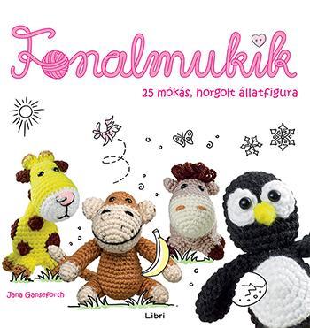 FONALMUKIK - 25 MÓKÁS, HORGOLT ÁLLATFIGURA