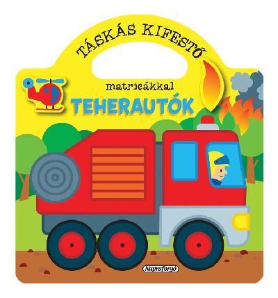 TEHERAUTÓK - TÁSKÁS KIFESTÕ MATRICÁKKAL
