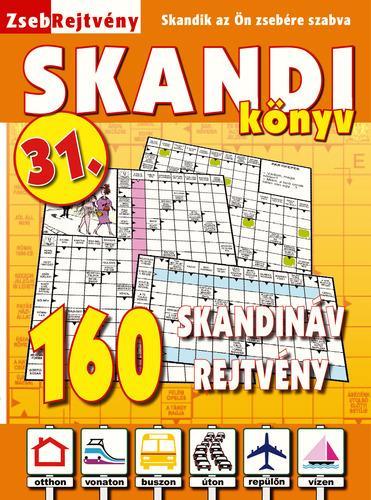ZSEBREJTVÉNY SKANDI KÖNYV 31.