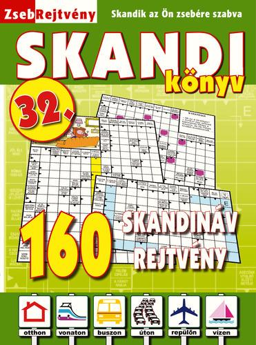 ZSEBREJTVÉNY SKANDI KÖNYV 32.