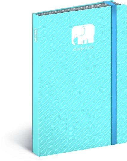 PG NOTESZ ELEPHANT, NOTEBOOK 10,5 X 15,8 CM