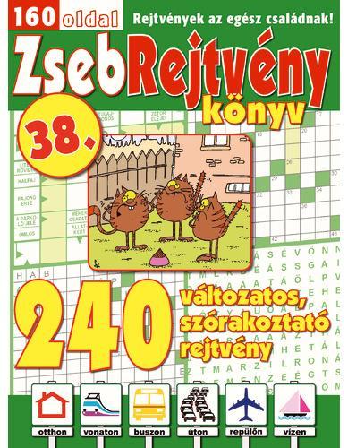 ZSEBREJTVÉNY KÖNYV 38.