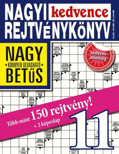 NAGYI KEDVENCE REJTVÉNYKÖNYV 11.