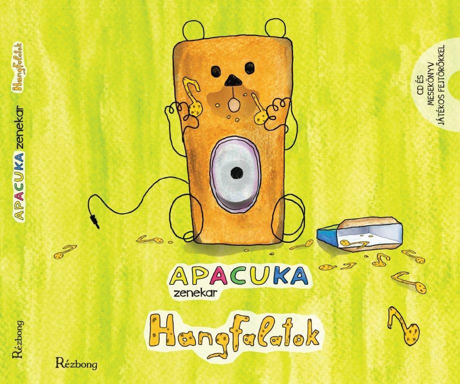 HANGFALATOK - APACUKA ZENEKAR - MESEKÖNYV+CD