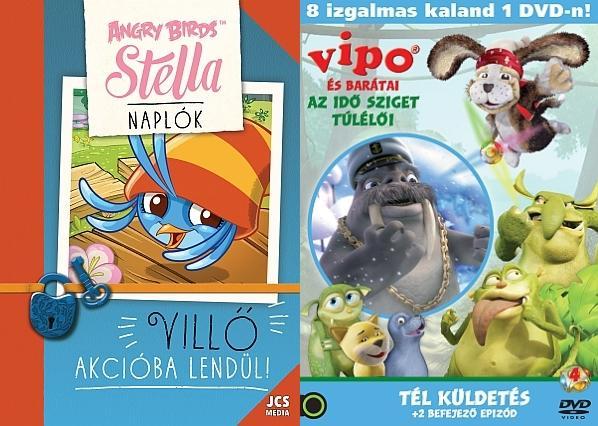- ANGRY BIRDS SZTELLA NAPLÓK - VILLŐ AKCIÓBA LENDÜL! + AJÁNDÉK VIPO DVD