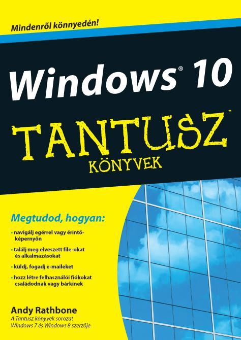 WINDOWS 10 - TANTUSZ KÖNYVEK