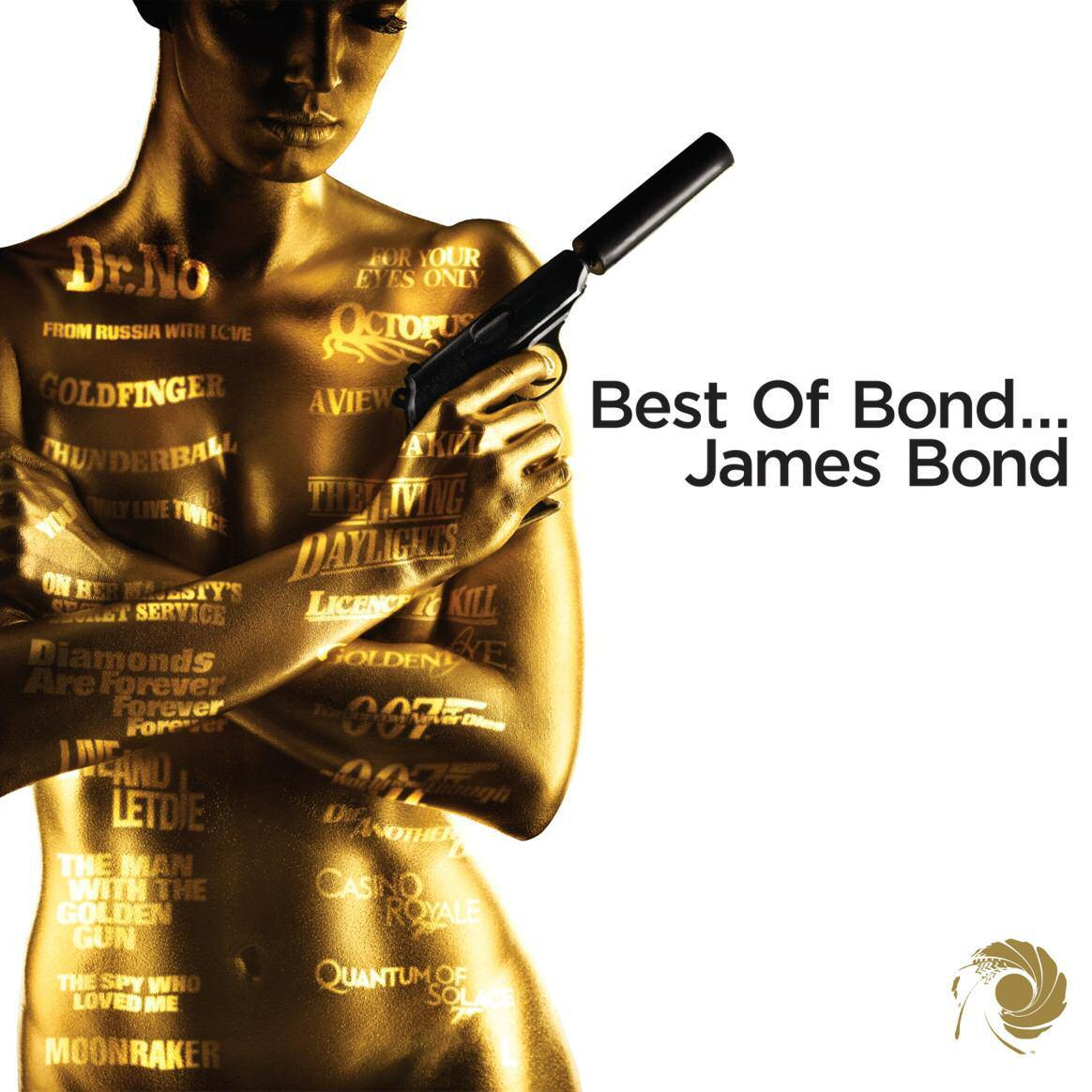 BEST OF BOND... JAMES BOND - DELUXE ED. - 2CD -