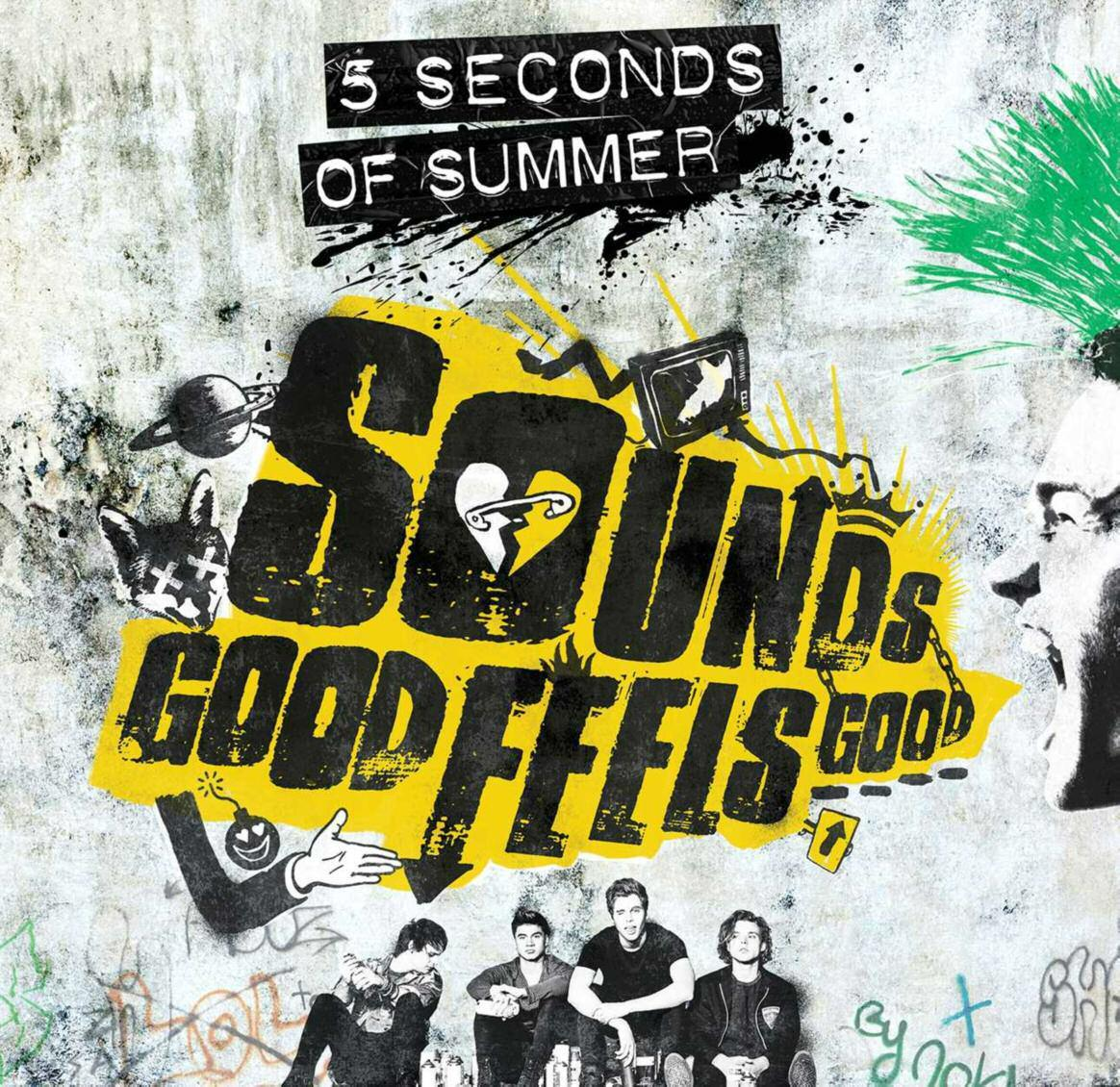 SOUNDS GOOD FEELS GOOD - 5 SECONDS OF SUMMER - CD -