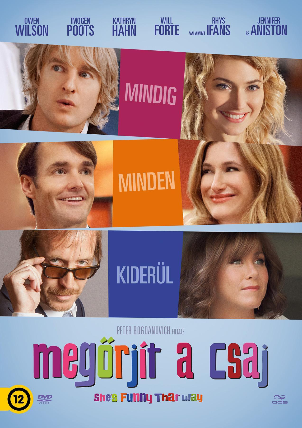 MEGŐRJÍT A CSAJ - DVD -