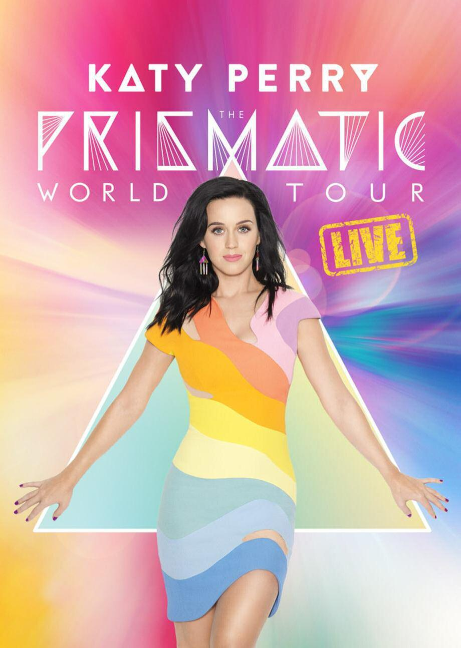 THE PRISMATIC WORLD TOUR LIVE - DVD -