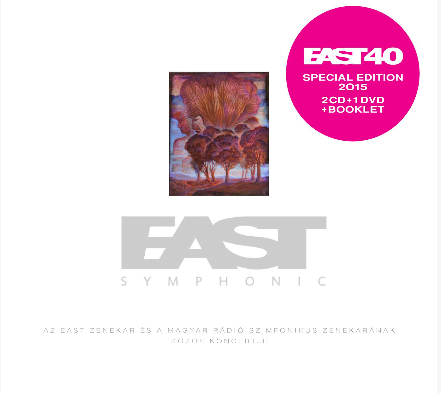 SYMPHONIC - EAST - 2CD + 1DVD -