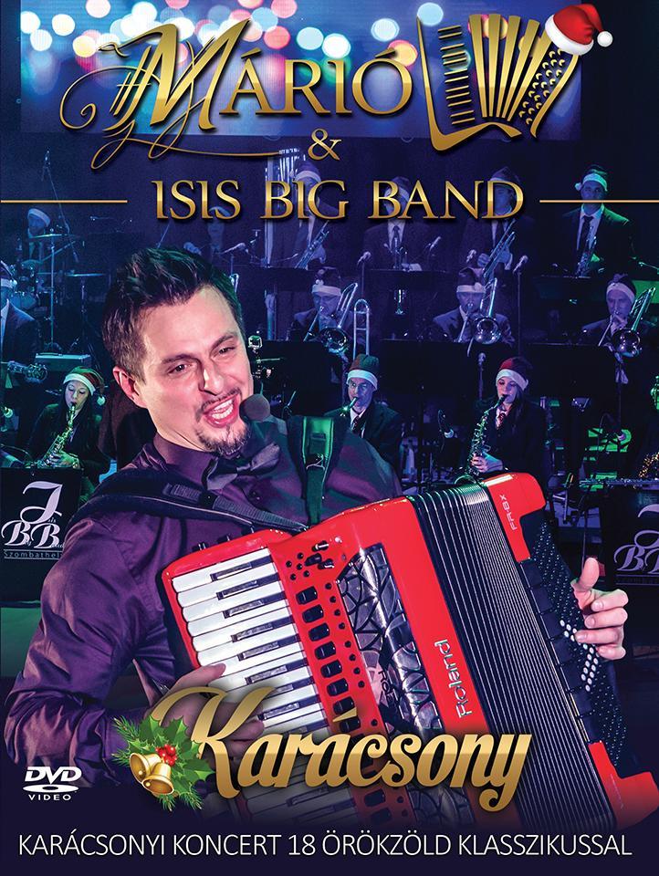 KARÁCSONY - MÁRIÓ & ISIS BIG BAND - DVD -