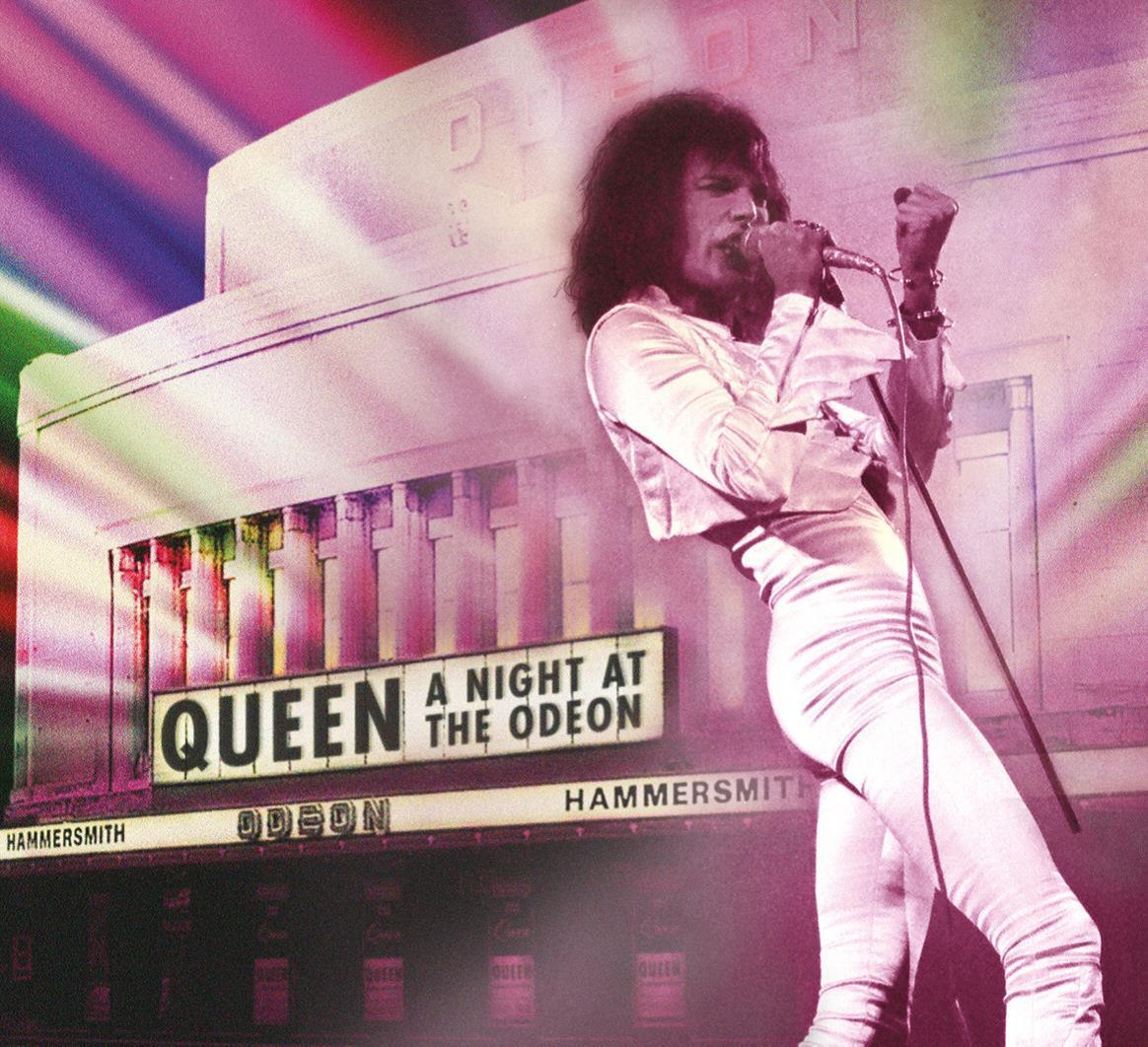 QUEEN - A NIGHT AT THE ODEON - QUEEN - CD -