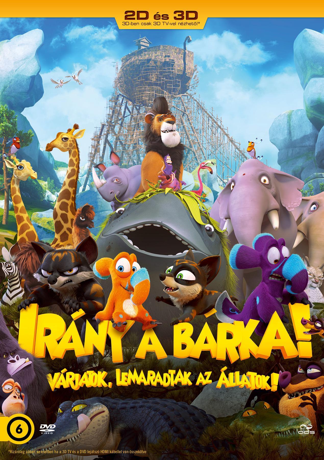 - IRÁNY A BÁRKA! (2D ÉS 3D) - DVD -