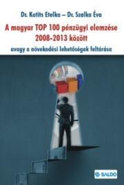 A MAGYAR TOP 100 PÉNZÜGYI ELEMZÉSE 2008-2013
