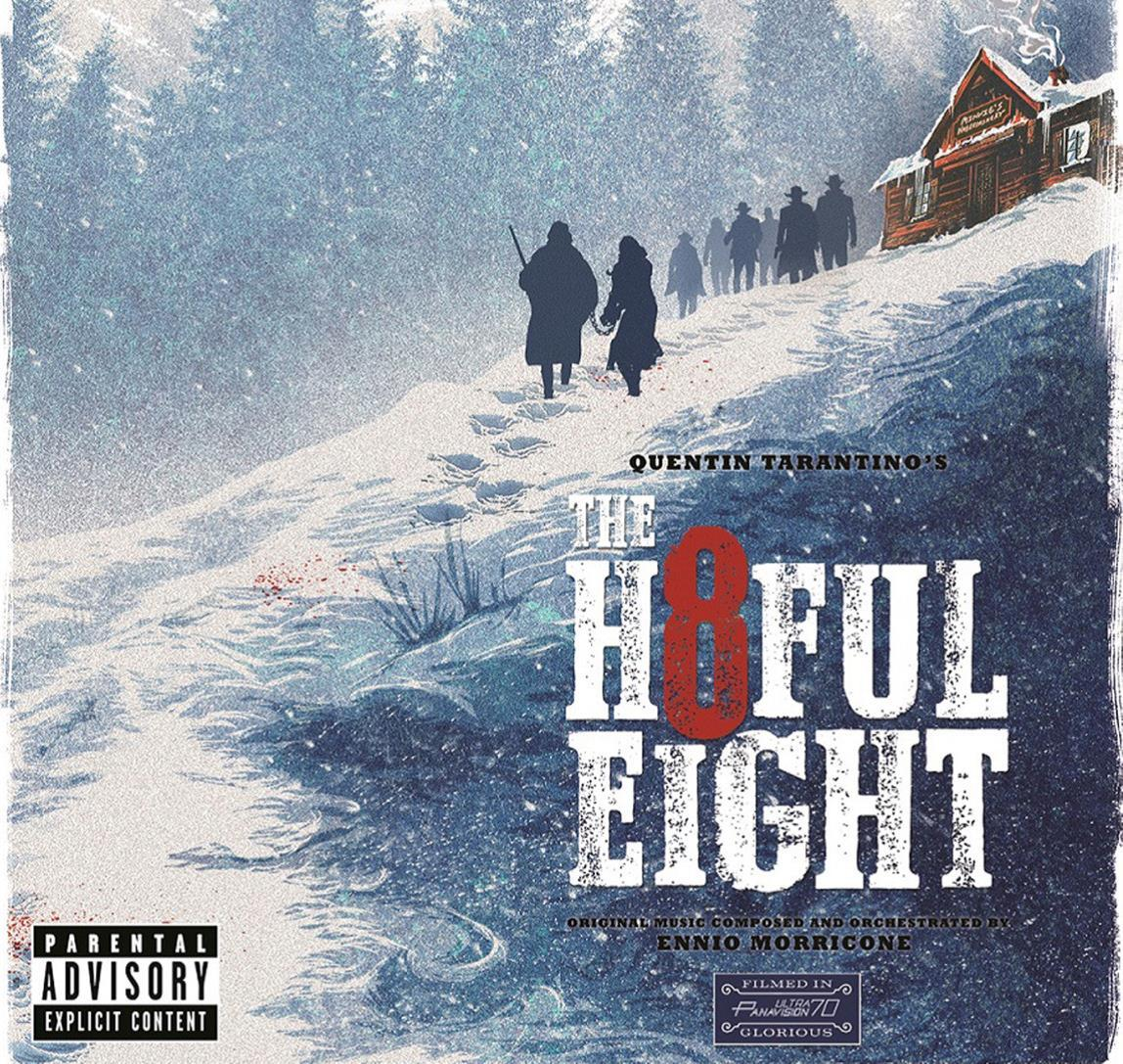 THE HATEFUL EIGHT - CD -