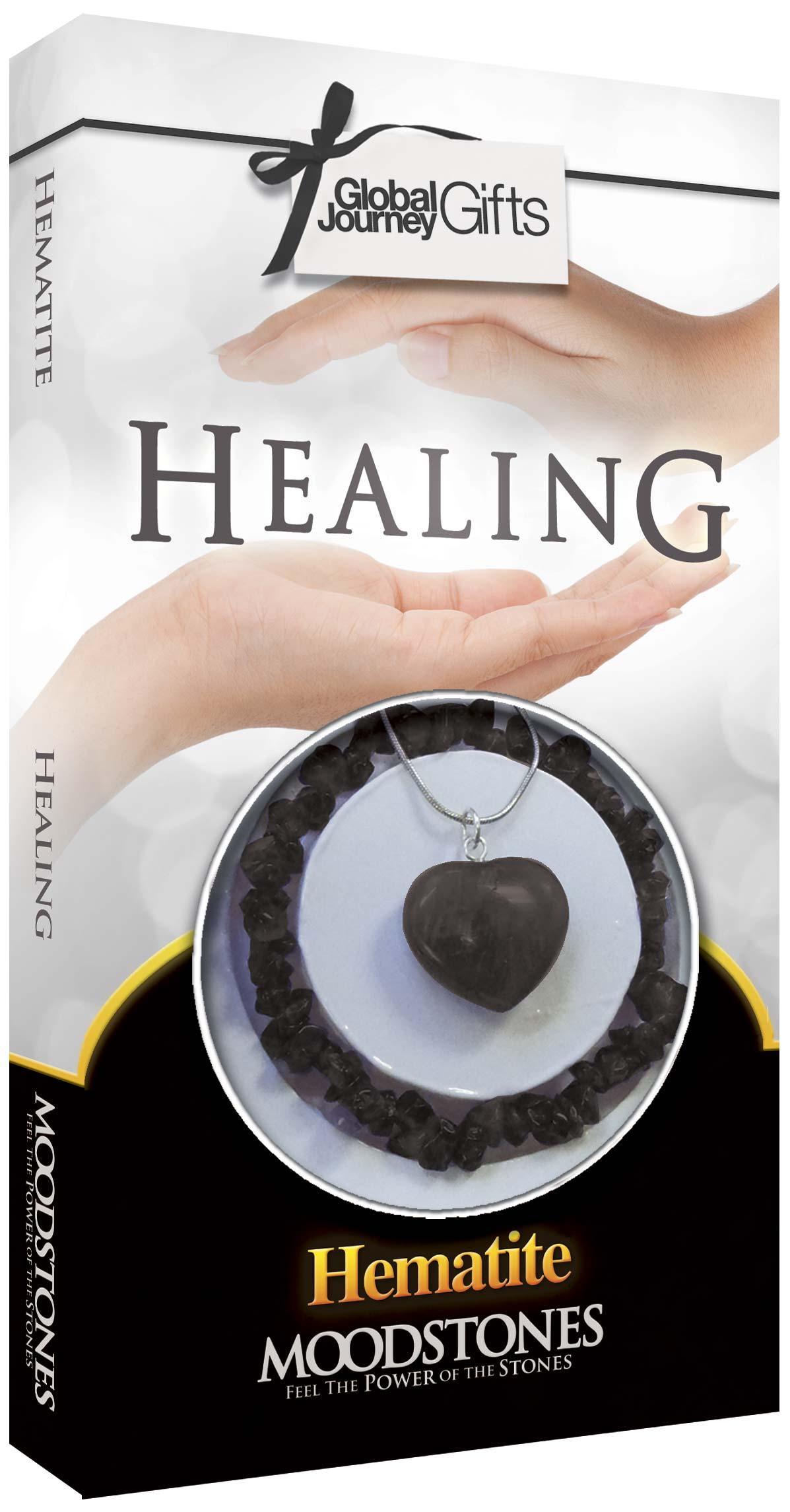 HEALING HEMATIT - ANGYALI KRISTÁLYOK (KARKÖTÕ+MEDÁL LÁNCCAL)