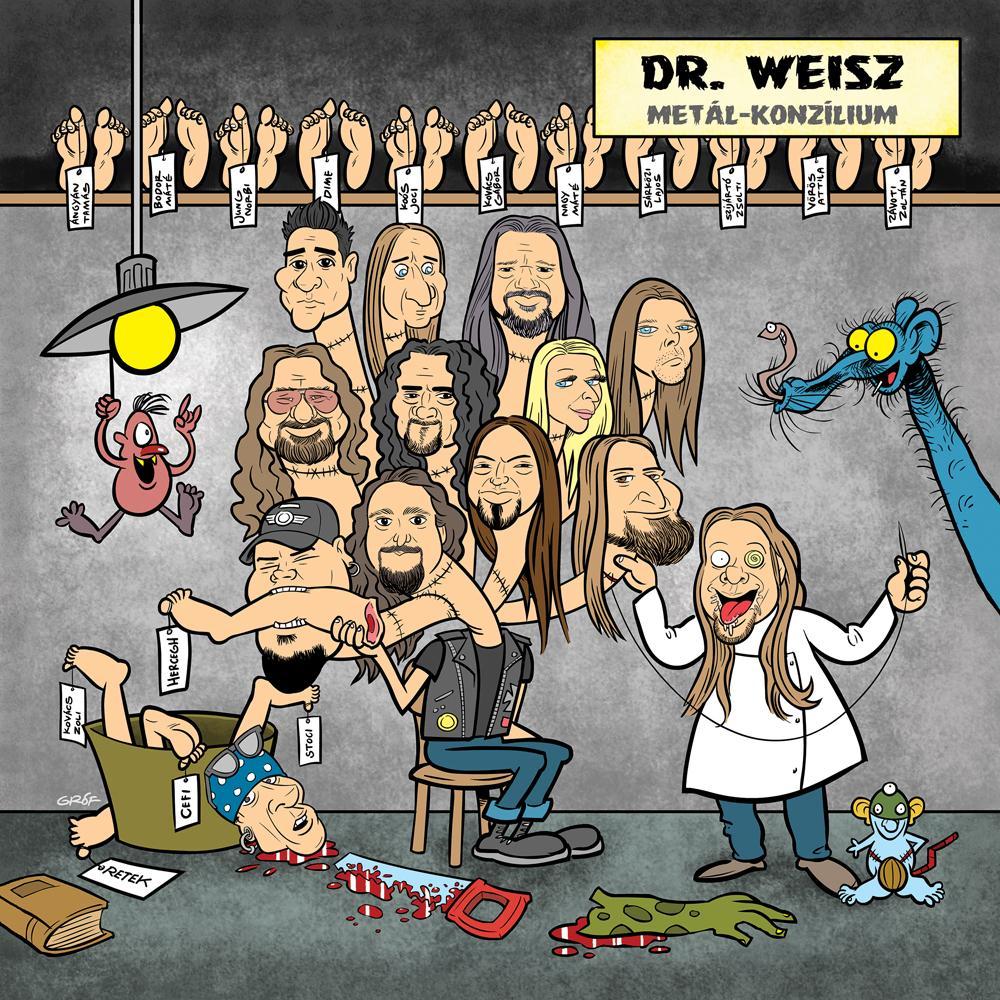 METAL KONZÍLIUM - DR. WEISZ - CD -