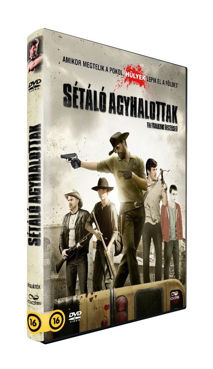 - SÉTÁLÓ AGYHALOTTAK - DVD -