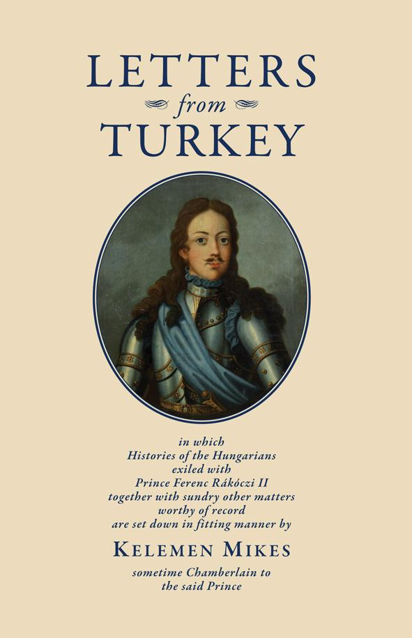LETTERS FROM TURKEY - TÖRÖKORSZÁGI LEVELEK (ANGOL)